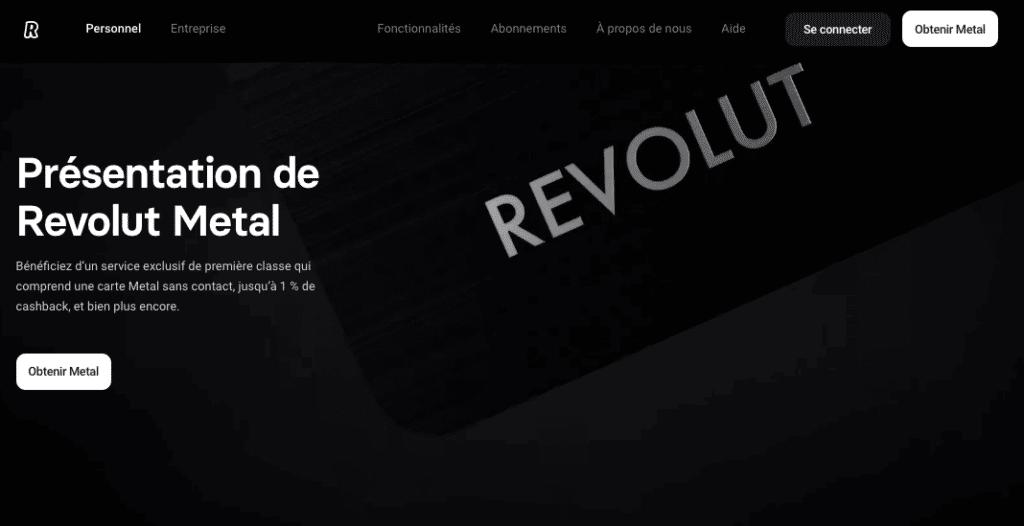 carte virtuelle néobanque Revolut