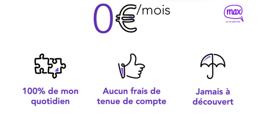 banque en ligne gratuite sans revenu