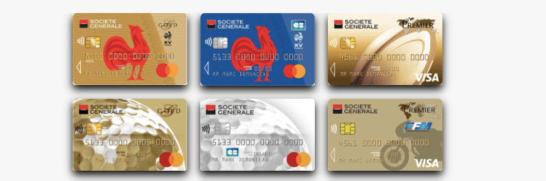 Visuels pour personnaliser sa carte bancaire
