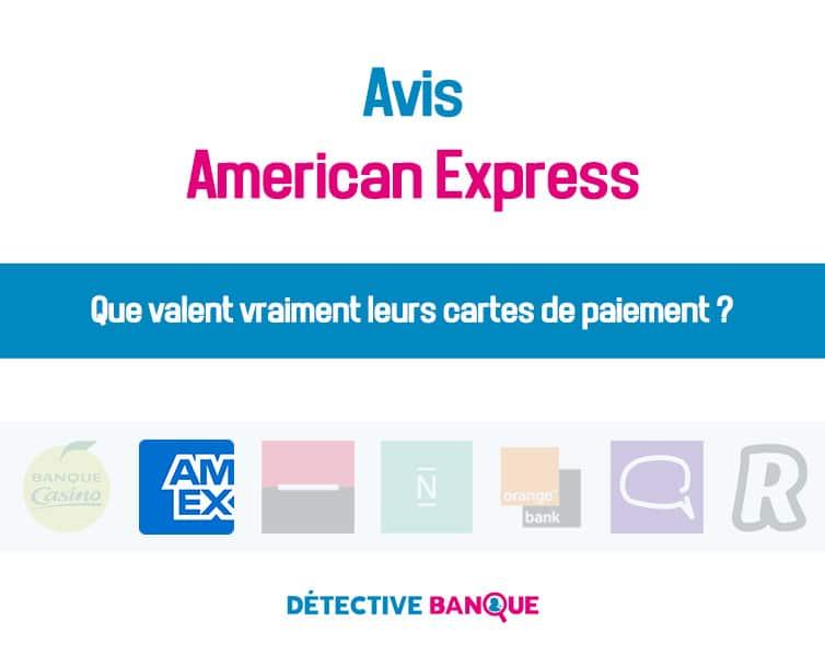 Amercican express avis
