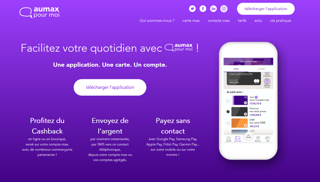 avis aumax appli mobile