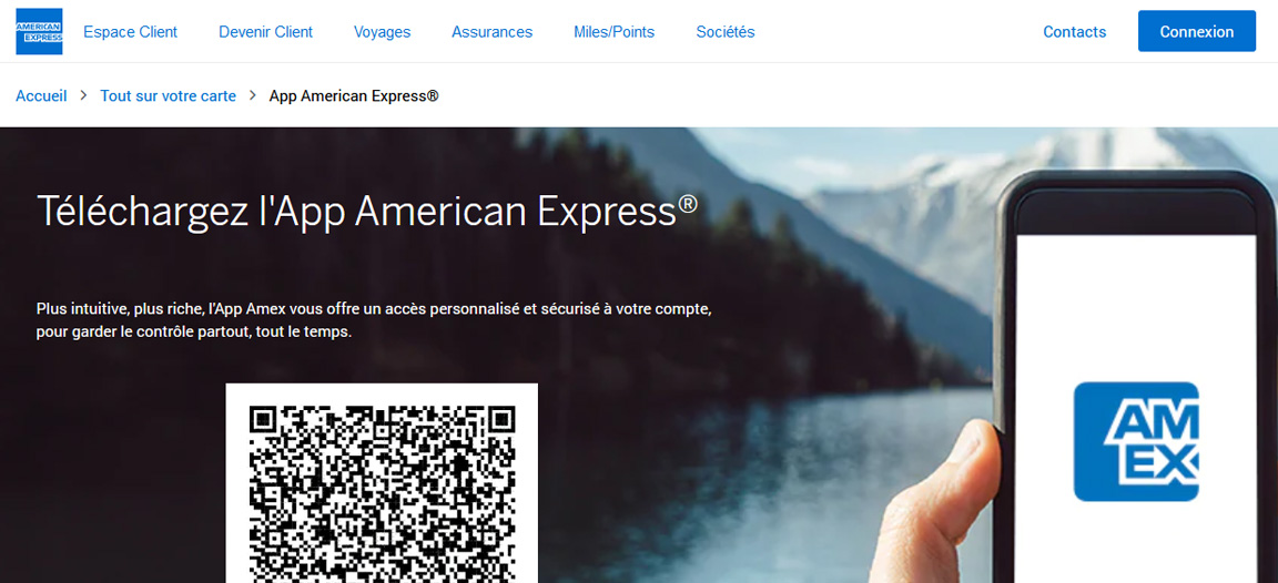 Gold American Express avis : L'appli mobile