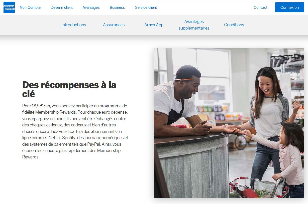 Green American Express : Le cashback