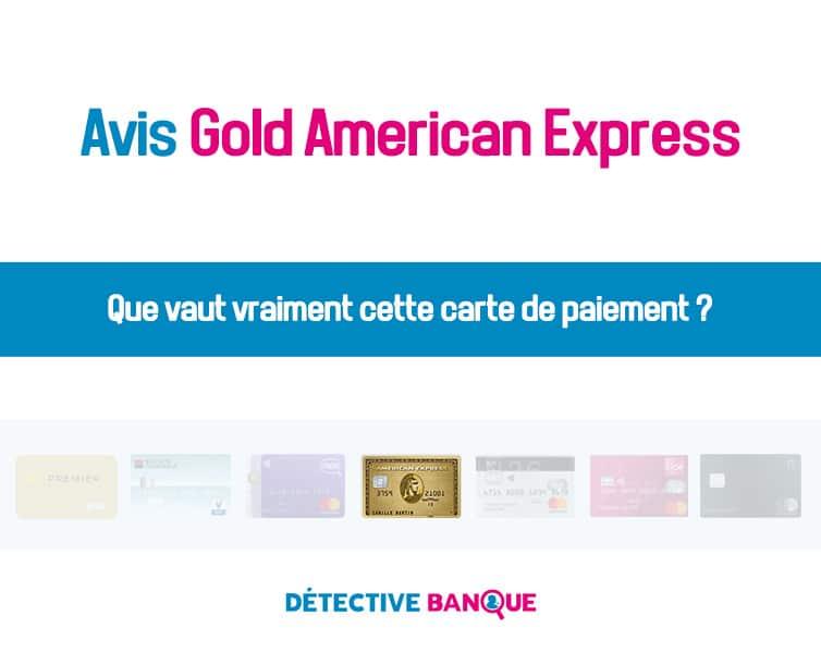 Gold American Express avis