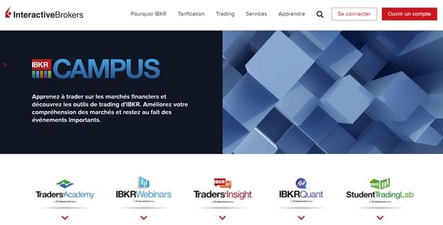 Interactive Brokers formation avis