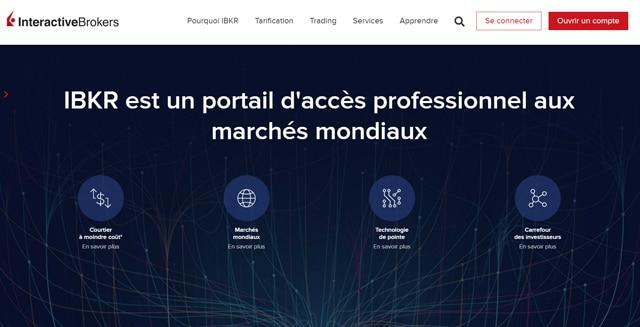 Interactive Brokers marchés