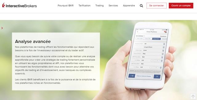 Interactive Brokers courtier avis logiciel de trading