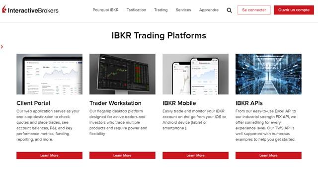 IB Avis plateforme trading