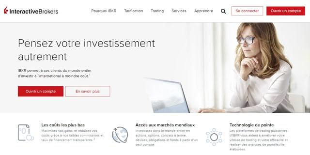Interactive Brokers broker avis frais