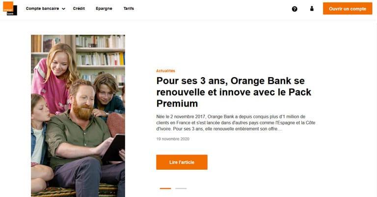 Orange Bank réduit le nombre de retraits mensuels