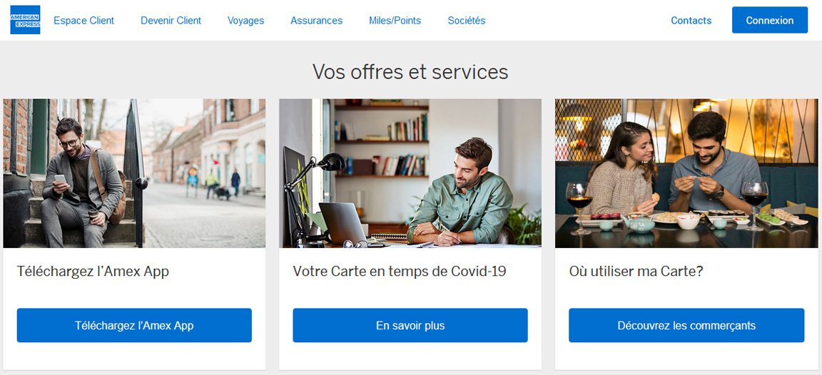 Gold American Express avis : les services