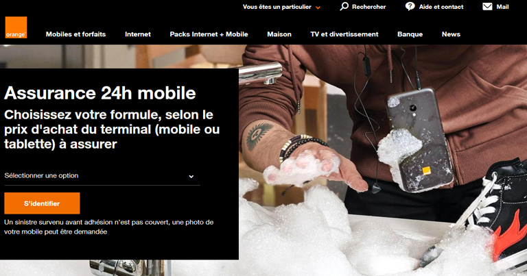 Orange Bank se lance dans l'assurance mobile
