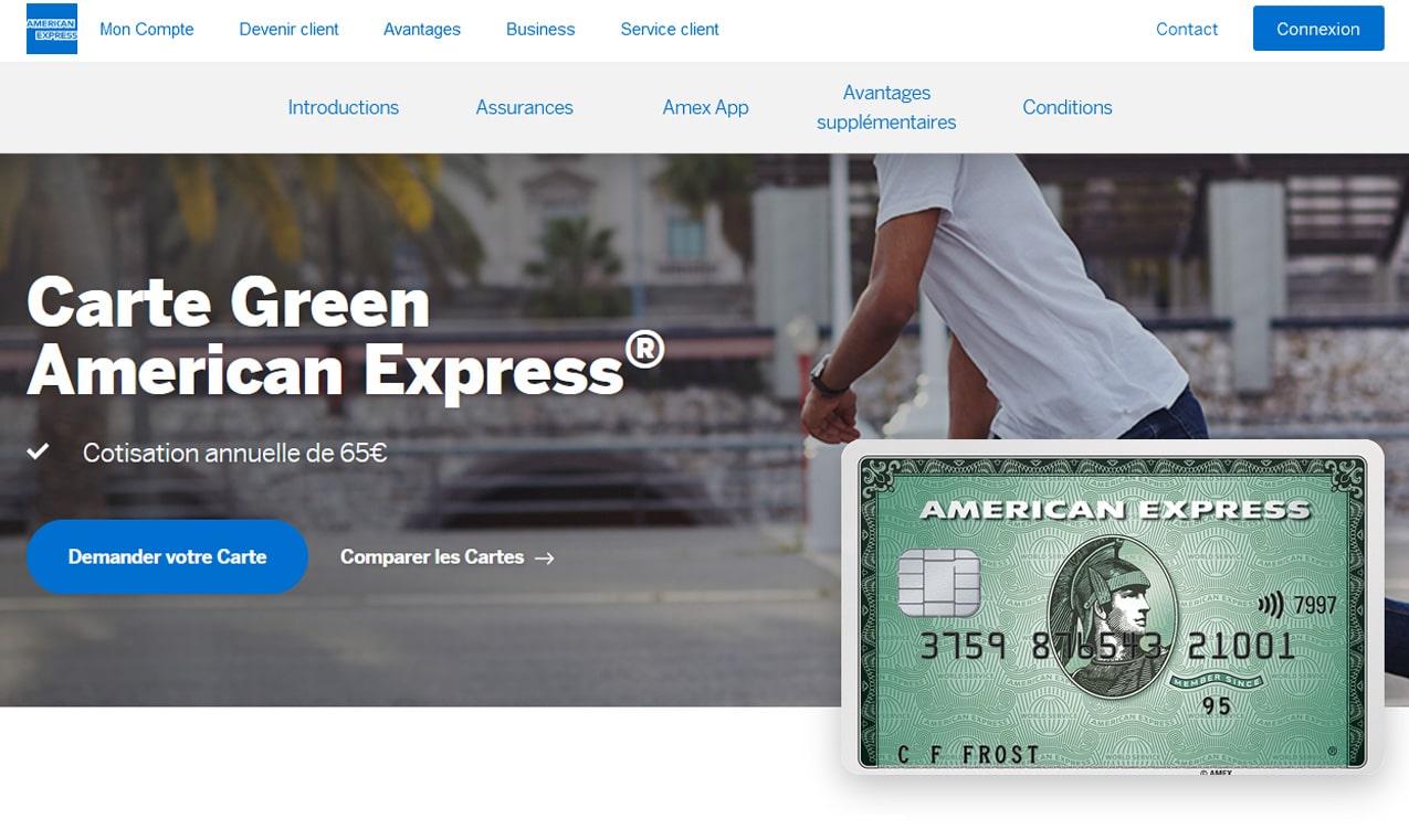 American Express avis Green