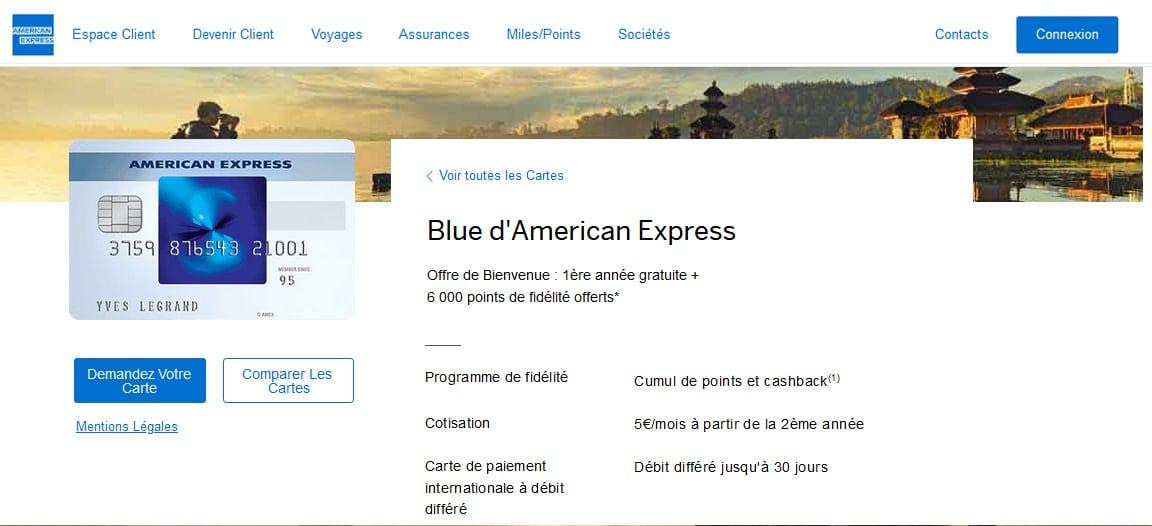 Blue American Express avis : La conclusion