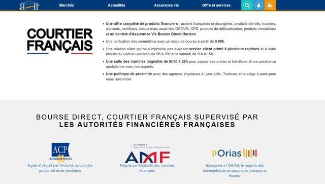 regulation avis Bourse Direct