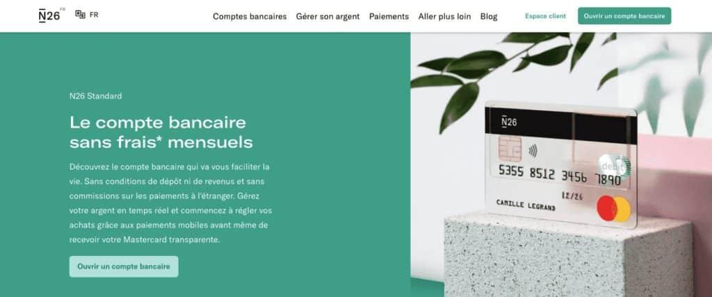 Banque mobile carte