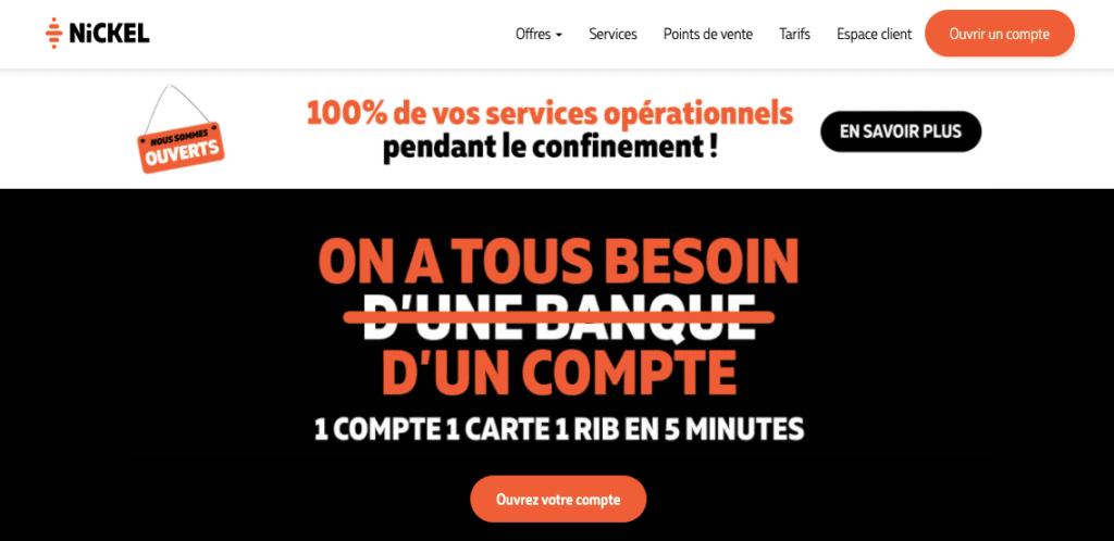 Néobanque RIB français