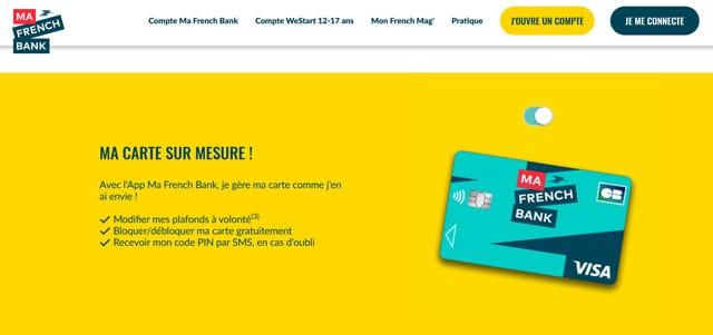 carte bancaire ma french bank avis