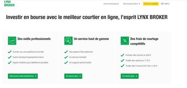 lynx broker avis service client