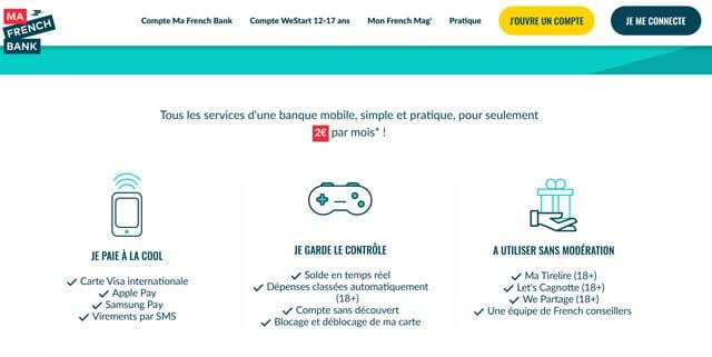 tarif ma french bank avis