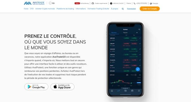 AvaTrade Avis outils trading