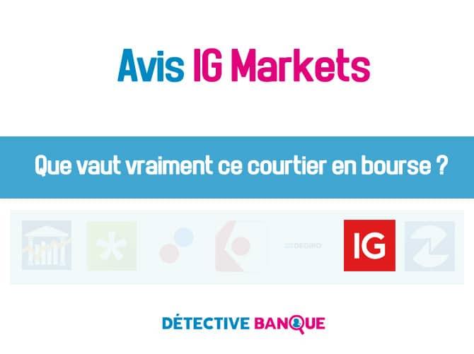 Avis IG Market