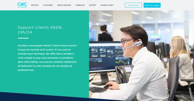 CMC Markets avis service client