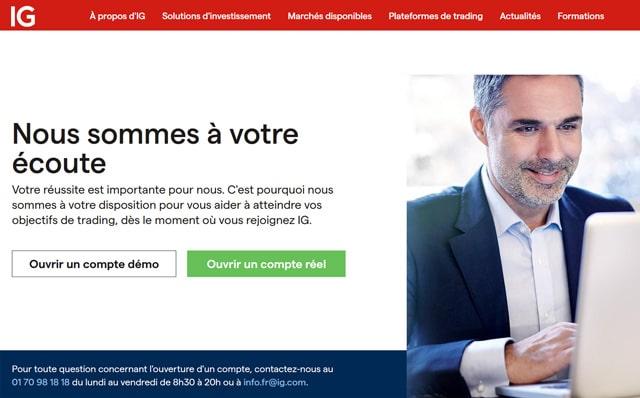 Avis IG France service client