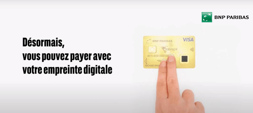 paiement biométrique France