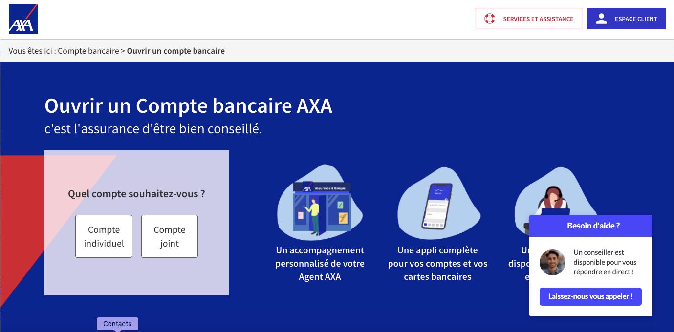 Pièces justificatives pour créer un compte Axa Banque