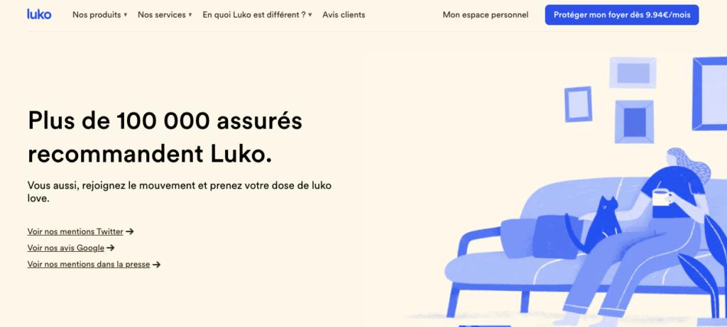 Avis clients Luko