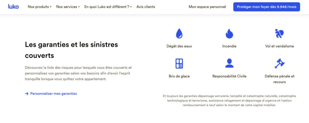 Avis Luko : les garanties