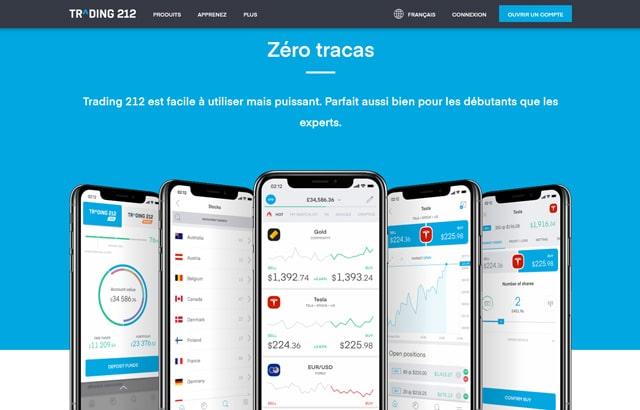 Trading 212 : plateforme de trading