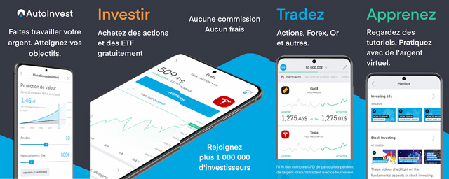 trading 212 appli mobile