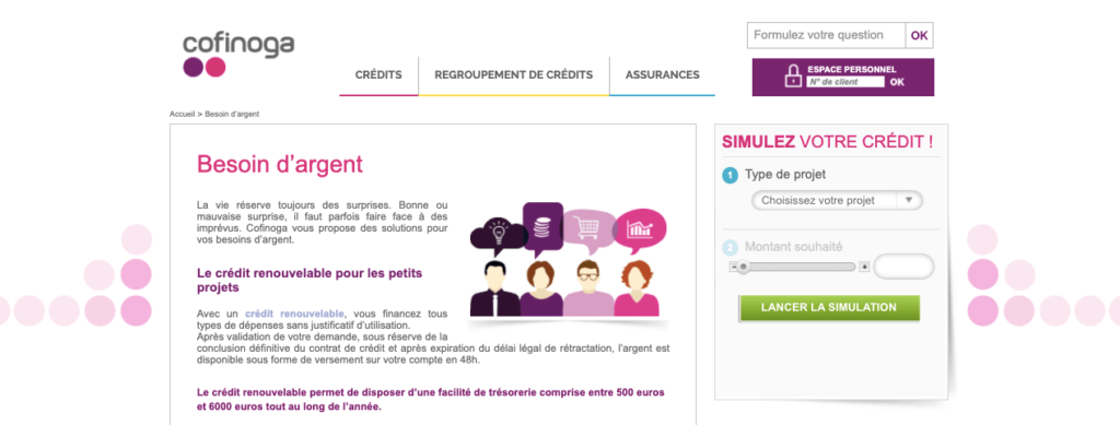 Avis Cofinoga : le crédit renouvelable