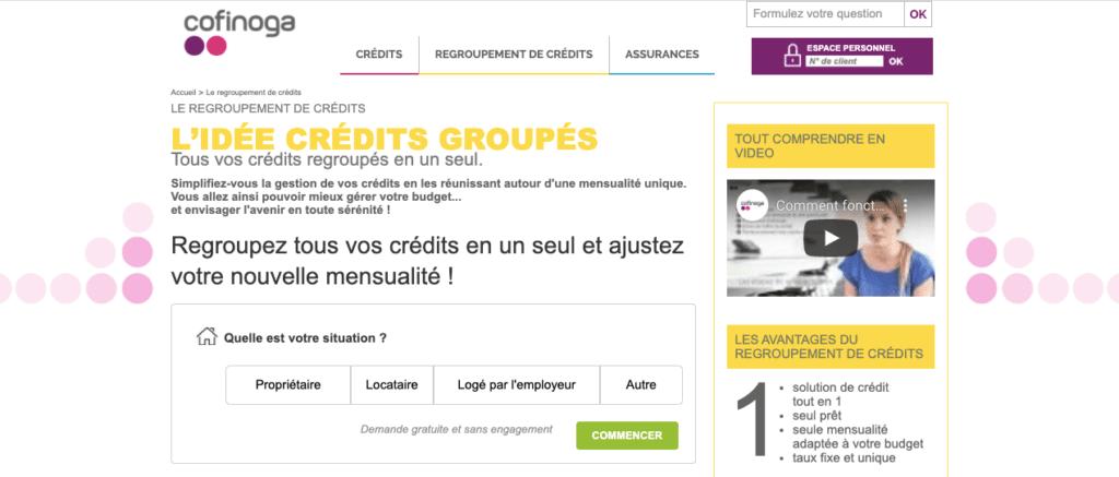 Avis Cofinoga : rachat de crédit