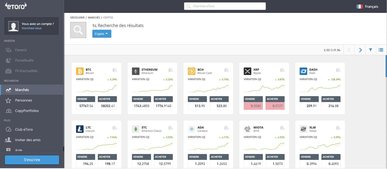 Acheter du bitcoin avec etoro