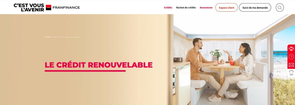Avis Franfinance : credit renouvelable