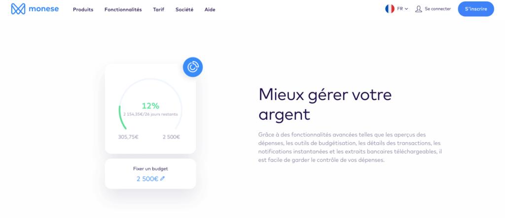 Avis Monese : appli mobile