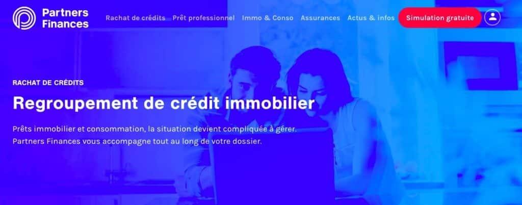 Avis Partners Finances rachat crédit immo