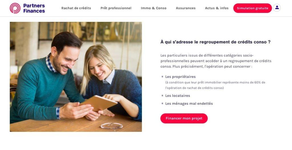 Avis Partners Finances rachat crédit consommation