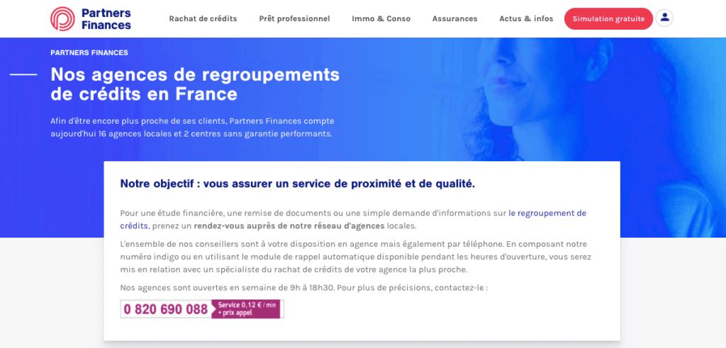 Avis clients Partners Finances