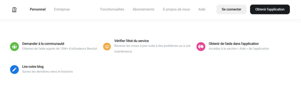 Avis Revolut : service client