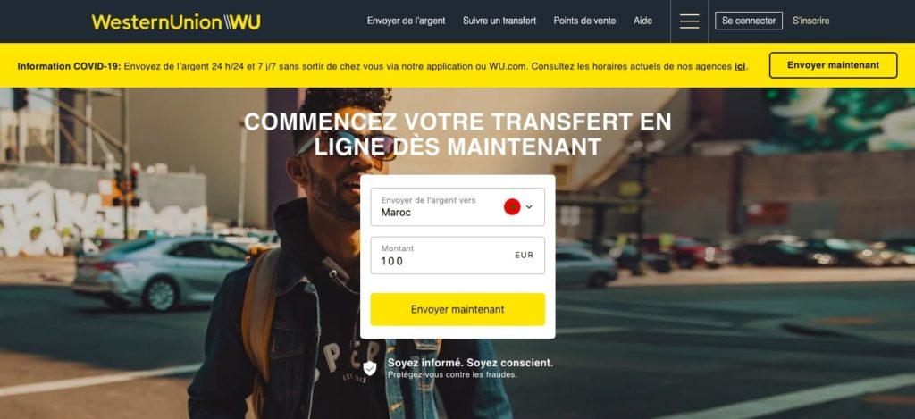 Avis Western Union : fonctionnement