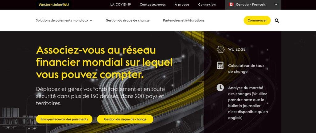 Avis Western Union : service client