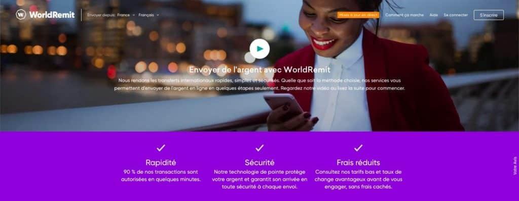 Avis WorldRemit : les tarifs