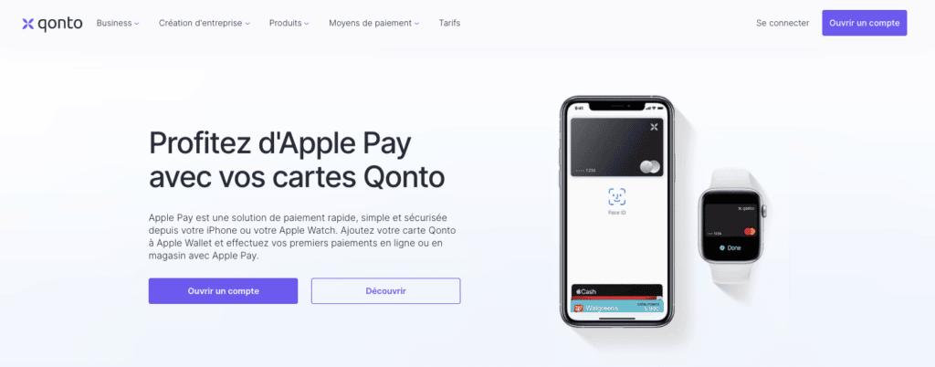 Apple Wallet Qonto