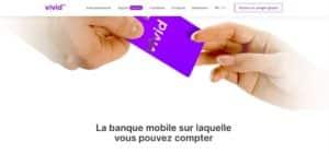 Carte bancaire gratuite Vivid