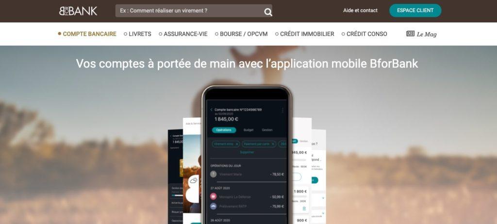 Avis sur l'appli mobile Bforbank bourse