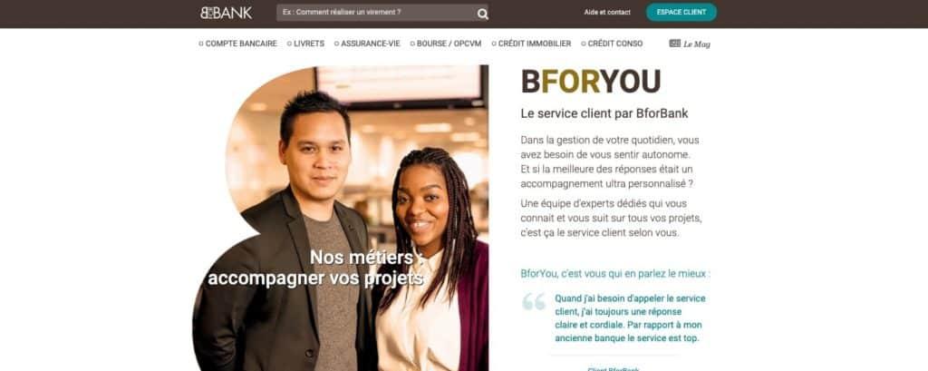 Quel avis PEA BforBank sur le service client ?